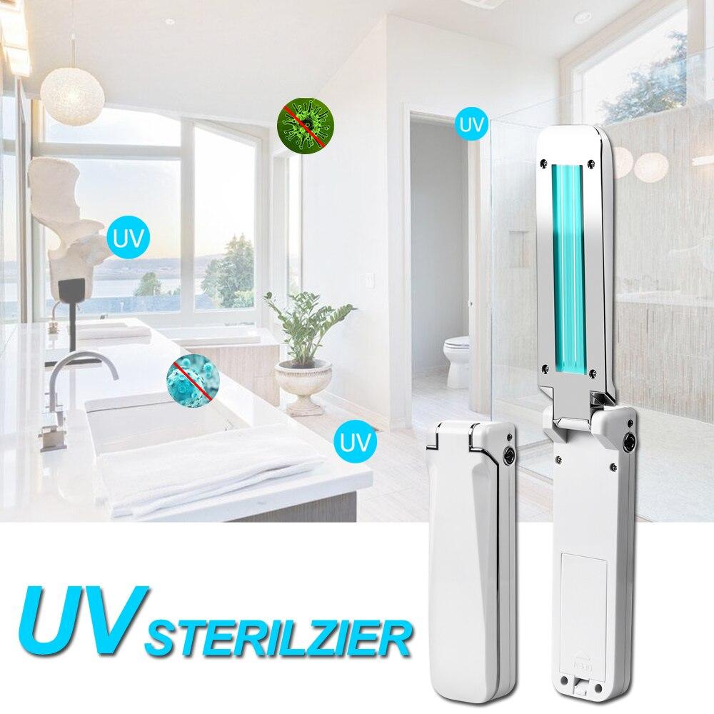 UVC лампа стерилизатор 3 Вт переносной УФ-светильник стерилизация лампа 253 нм 5 в UVC дезинфекционная лампа для дома кухни спальни бактерицидная