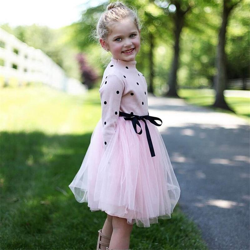 H43f8f7fa846149c18eccb88cd33c4c5cS Winter Kids Dresses For Girls Long Sleeve Children Clothing Sequins Stars Tutu Girls Casual School Wear Princess Party Dress