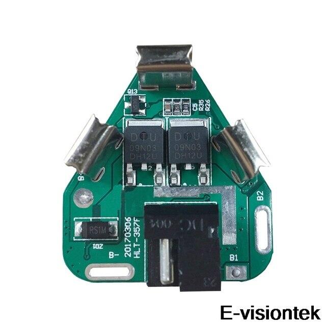 3S BMS 12V 10A Batterie Schutz Bord PCM DC Elektronische Werkzeuge 18650 Lipo Li Ion Lithium Ladegerät Batterie BMS circuit Board PCB