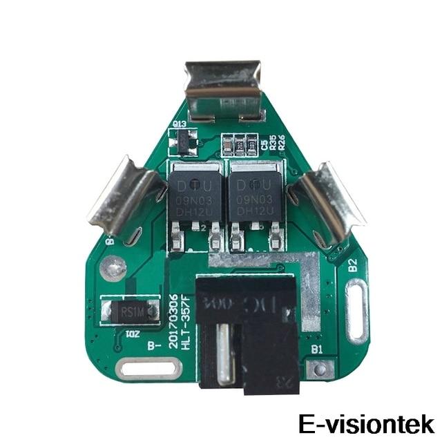 3S BMS 12V 10A הגנת סוללה לוח PCM DC אלקטרוני כלים 18650 Lipo ליתיום ליתיום מטען סוללה BMS מעגל לוח PCB