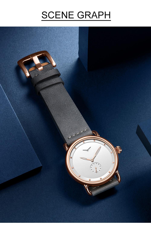 H43f96cb83ea74b7395b8f52c97091b412 ONOLA top brand leather men watches clock fashion sport simple casual waterproof Wrist watch men relogio masculino