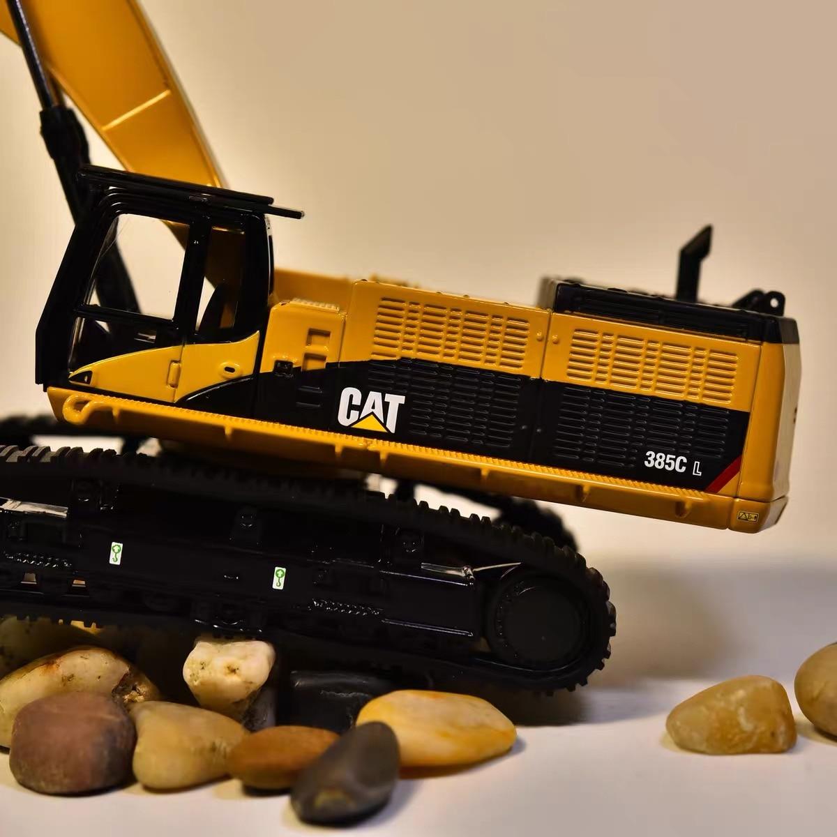 Lagartas 1:64 cat 385c matel escavadeira hidráulica