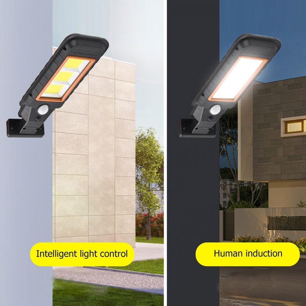 cheapest Waterproof Solar Wall Light Solar Lamp Human Motion Sensor Outdoor Security Lighting Lamp for Garden Street Pathway Yard