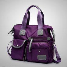 Женская сумка через плечо с несколькими карманами LITTHING, Новая Модная Портативная сумка на молнии для путешествий, многофункциональные сумк...