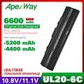 4400mAh аккумулятор для ноутбука Asus Eee PC 1201 1201HA 1201K 1201N 1201NL 1201PN 1201T Pro23 Pro23A UL20 UL20A UL20FT UL20G UL20VT
