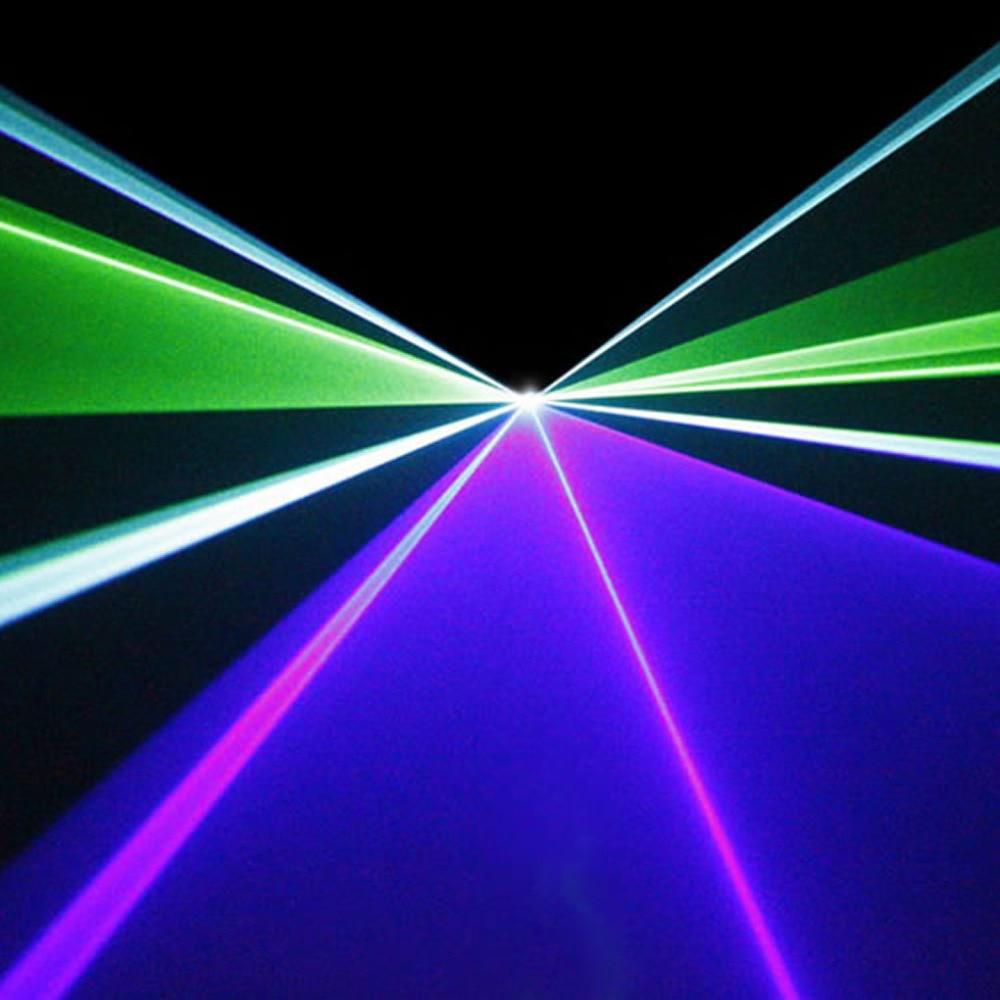 Mini IR Remote Sound Beam Scan 200mW Luces láser cian verde azul 8 - Iluminación comercial - foto 4