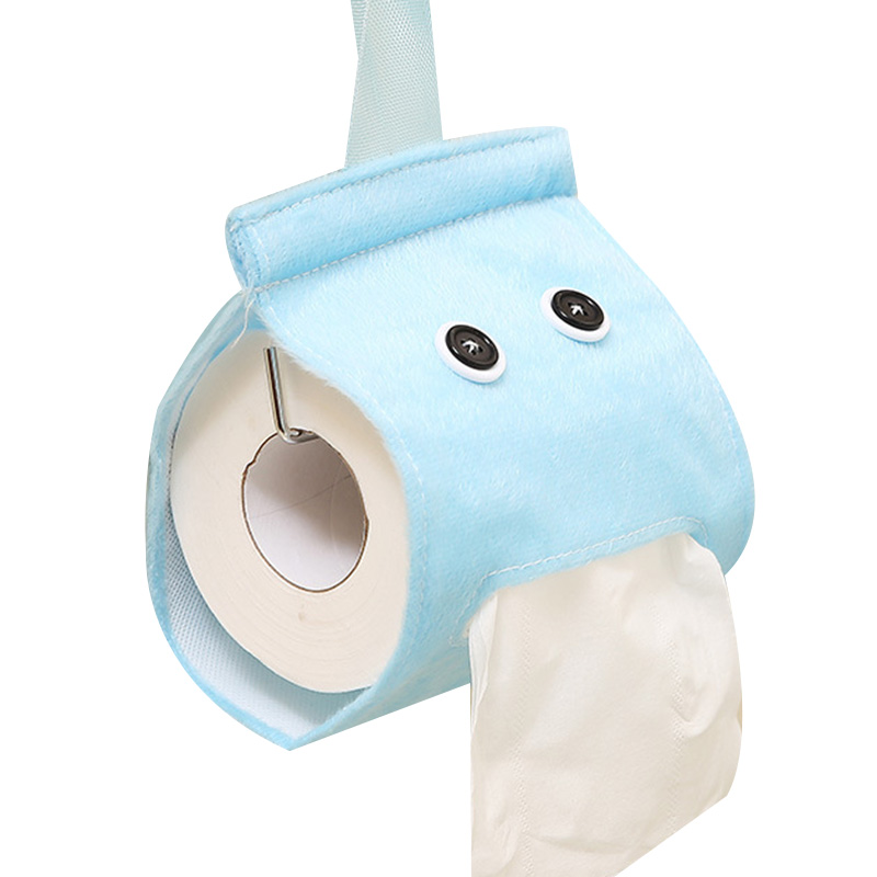 Toilet Paper Holder Bathroom Decor Creative Colorful Roll For Home Accessories Tissue Cover Random Color