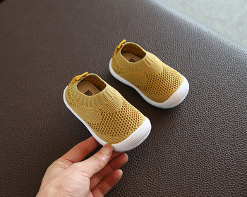 Kid Baby First Walkers ShoesBreathable b Infant Toddler Shoes Girls Boy Casual Mesh Shoes Soft Bottom Comfortable Non-slip Shoes 1