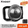 Купол для дайвинга SHOOT for GoPro Hero 8, водонепроницаемый чехол для объектива с двумя ручками и триггером, 45 м, аксессуары для Go Pro 8