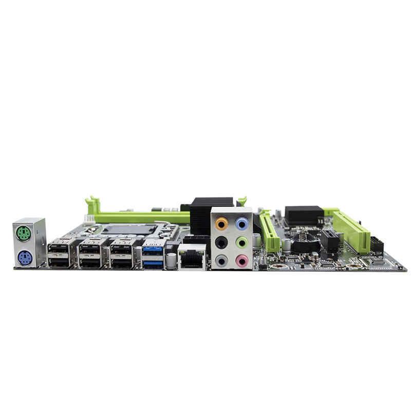 Материнская плата X58 Lga 1366 с поддержкой серверной памяти REG ECC и процессором Xeon 32 Ram с портом USB2.0 USB3.0 Sata 2,0 PCI-16x3.0