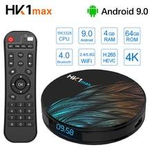 Android 9.0 TV Box HK1 MAX 4K HD Smart IPTV tvbox 2.4&5G Dual WiFi RK3328 MiNi Set Top Box Google Media Player HDTV Home Theare недорого