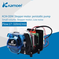 Kamoer KCM ODM High precision small peristaltic dosing pump 12V /24V with stepper motor