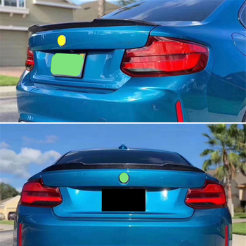 For BMW 2 Series coupe F22 M2 f87 spoiler 2013--2019 year rear wing cs style Sport body kit Accessories real carbon fiber