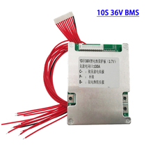 цена на 18650 battery protection BMS electric bicycle battery 10S 36V lithium-ion battery 40A PCB board balance