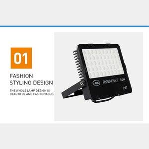 Image 3 - Projecteur ultra lumineux, imperméable conforme à la norme IP65, éclairage dextérieur à large faisceau, lumière de sécurité de paysage, idéal pour la cour, le jardin ou une aire de jeux, 10 LED W, 110lm/W
