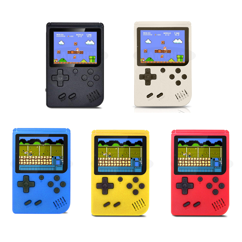 500 IN 1 Retro Video Game Console Handheld Game Portable Pocket Game Console  Mini Handheld Player for Kids Gift 5