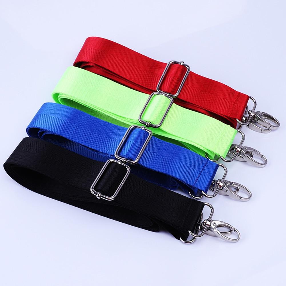 Fashion Women Solid Buckle Belt Bag Detachable Adjustable Bags Strap Handbag Shoulder Bags Parts Accessories Replacement Bag