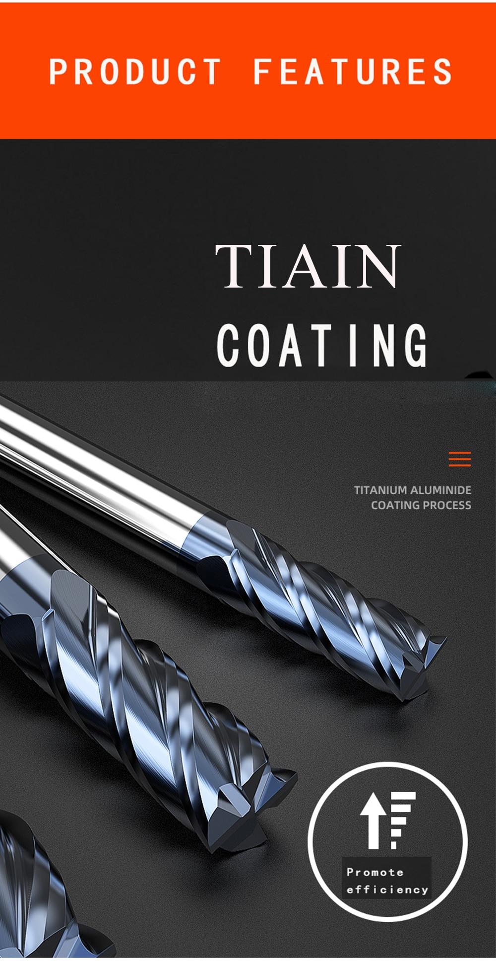 cnc do aço de tungstênio ferramentas de