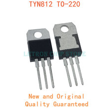 10 pces tyn612 scr 12a 800v para-220 to220 ic original novo