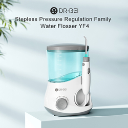 DR·BEI Oral Irrigator Dental Water Flosser Irrigator Flosser 600ml Watertank Jet Irrigator Dental Family Oral Care Xiaomi Youpin