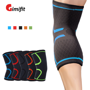 1 PC Elastic Knee Pads Nylon Sport Fitness Kneepad Fitness Gear Patella Brace Running Basketball Volleyball Stand