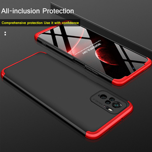 Image 4 - redmi note10 pro case kılıf koruyucu temperli cam kamera 3 in 1 360 kapak kılıf Xiaomi Redmi için Note10 not 10 pro max not 10s