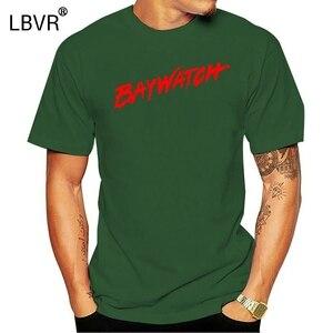 BAYWATCH T SHIRT! Klasik RETRO. .. Cankurtaran TV serisi... Gömlek komik erkekler Tops Tees 2020 yaz moda yeni