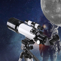 40070 Professional 70mm Large-caliber 400mm Focal Multilayer Coated Lens Monocular Astronomical Telescope Focal With Tripod