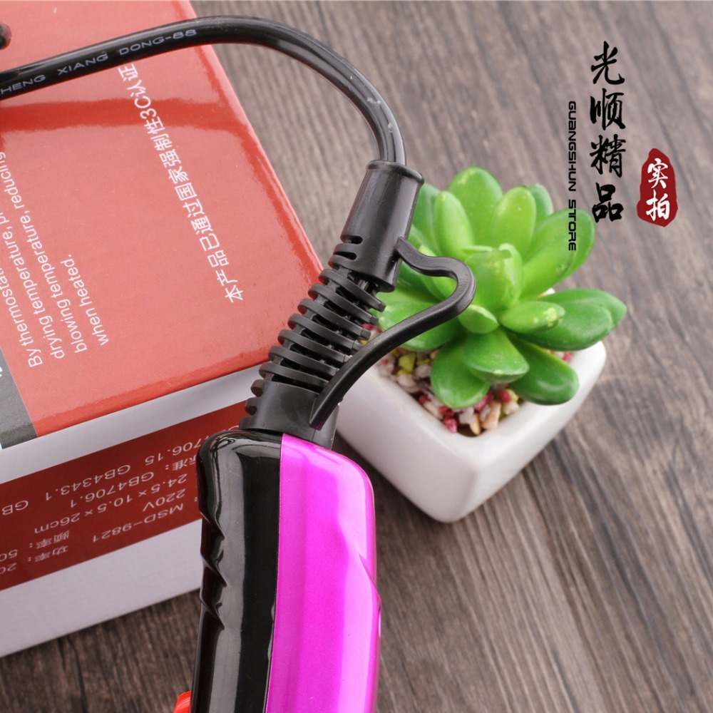 X-7705 2000W household high power blower 2 stalls cold and hot air hair dryer hair dryer wind blowing nozzle