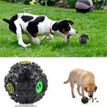 Pet Dog Leak Food Ball Color Strange Screams Molar Teeth Bite-Resistant Vocal Toy Puzzle Size Supplies