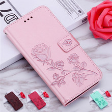 Rose Leather Case Voor Lenovo S5 Pro P2 K9 K10 Note Z5 Z5S A806 A808T A859 A916 K10 K10e70 P70 p780 A859 A606 S820 S660 S60T Case(China)