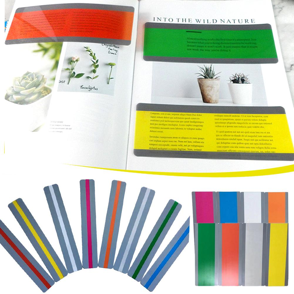 Guided Reading Strip Innovative Color Bookmark Overlay Highlighting Reading Bookmark