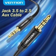 Vention 3.5 ~ 2.5 Aux 케이블 잭 3.5mm ~ 잭 2.5mm 오디오 케이블 잭 3.5 헤드폰 용 Aux 스피커 커넥터 코드 2.5 ~ 3.5