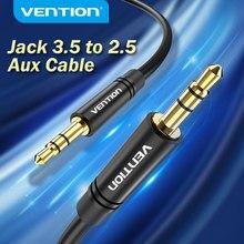 Vention 3.5 a 2.5 aux cabo jack 3.5mm para jack 2.5mm cabo de áudio jack 3.5 para fone de ouvido aux alto-falante conector cabo 2.5 a 3.5
