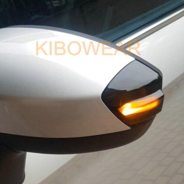 แบบไดนามิกBlinkerสำหรับFord S Max 2007 2014 Kuga C394 2008 2012 C Max 2011 2019ไฟเลี้ยวLEDสัญญาณกระจก