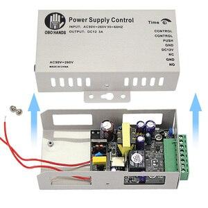 Image 5 - 5A المعادن نظام التحكم في الوصول امدادات الطاقة التبديل DC12V/3A AC90V 260V المدخلات NO/NC تأخير الوقت لجميع أنواع قفل إلكتروني K80