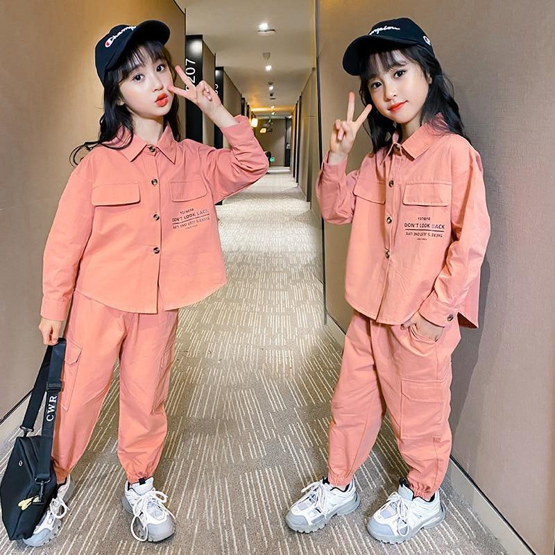 Children's Clothing Girls' Suit Autumn New 2021 Little Girl D10.15 5