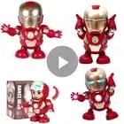 10 stks/partij Dansen Iron Man Feestartikelen Action Figure Speelgoed Real Tony LED Zaklamp Muziek De Avengers 4 Superhero Gift voor Kids