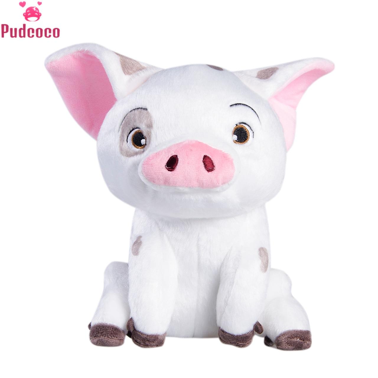 Hot Sale Movie Moana Pet Pig Pua Stuffed Animals Cute Cartoon Plush Dolls Soft 22cm Toys Girls 9 Inch Pet Pig Toy Birthday Gift