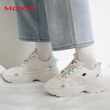 2019 New Brand Vintage Sneakers Women Fashion White Pink Chunky Trainers Thick Sole Running Shoes Woman