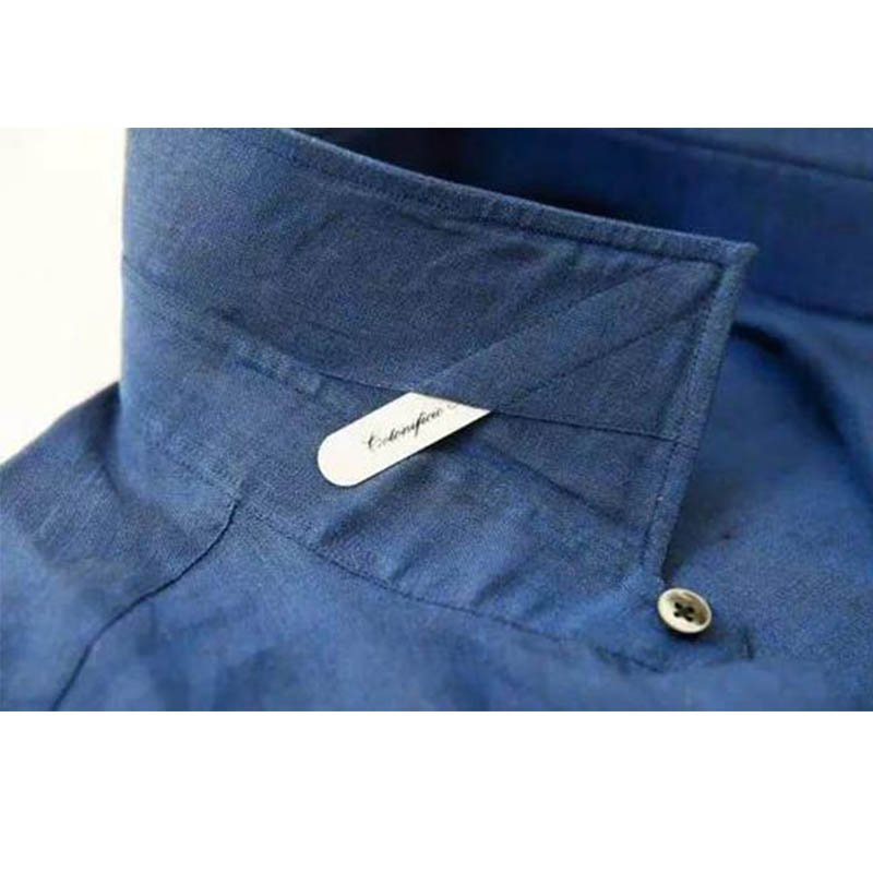 Magnetic Collar Stay 304 Stainless Steel Matte Metal Shirt Collar Stay 5 Sizes 2