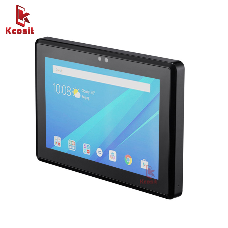2020 Door Access Control System Reader 7 Inch Wall Tablet Android USB UART WIFI Security  Attendance System