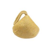 Korean crystal ladies evening clutch bags 2019 high end glitter shiny mine shape diamante bag