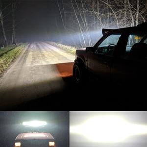 Image 3 - VISORAK 9 21 23 27 Inch Triple Row Combo Offroad LED Work Light Bar 4x4 4WD SUV ATV LED Bar For Truck SUV ATV Off road Tractor