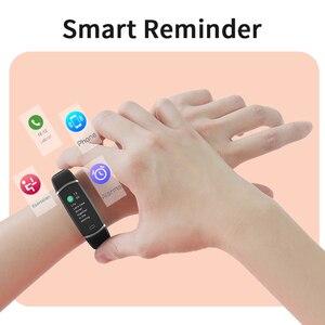 Image 5 - Lenovo חכם להקת HX11 חכם צמיד TFT מסך HX11 להקת Smartband כושר Tracker Bluetooth 4.2 ספורט עמיד למים חכם להקה