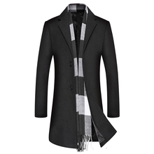 Winter Mens Woolen Overcoat, Overcoat Wool Coat Men  Coats for