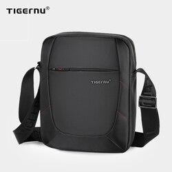 Tigernu Merk Schoudertas Voor Mannen Mannelijke Messenger Bag Mannen 10 Inch Zwarte Mannen Crossbody Tassen Kleine Handtas Toevallige business
