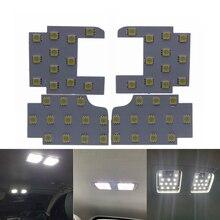 4ชิ้น/เซ็ตรถอัตโนมัติSuper Bright Ledภายในโดมแผนที่โคมไฟสำหรับMAZDA CX 5 CX5 Atenza Axelaห้อง12V 6500K