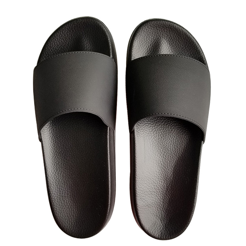 Plus Size 48 49 Men's Slides 2020 Soft Light Men Slippers Home Outdoor Beach Summer EVA Rubble Black White Fashion Indoor Shoes