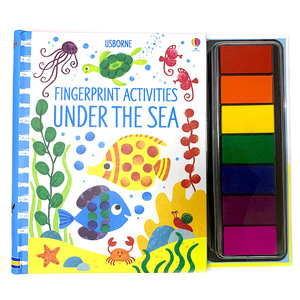 Finger Graffiti Painting Picture Book Pigment Washable Color Baby Learning To Draw Art Supplies Coloring Book Creative Seal Art